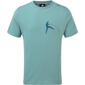 Mountain Equipment Portland Tee Herre goblin blue